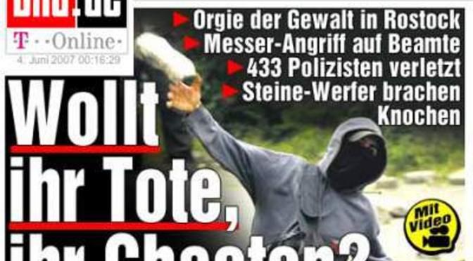 Gipfel der Lügen –Polizeiliche Desinformationspolitik bei Demonstrationen