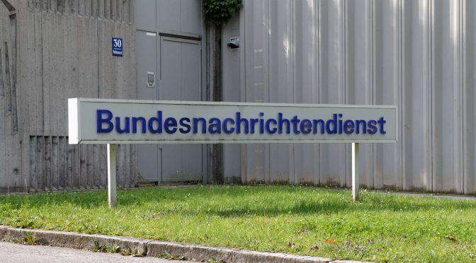 März-Nachrichten vom Bundesnachrichtendienst (BND)