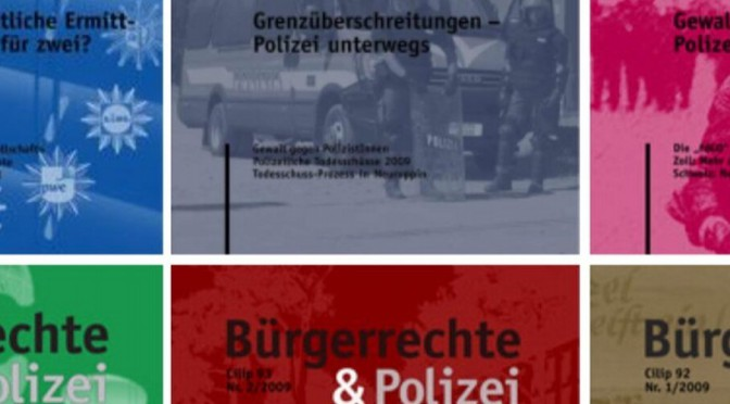 Der liberale Rechtsstaat als Fassade – Bürgerrechte im Schatten polizeilicher Gewalt