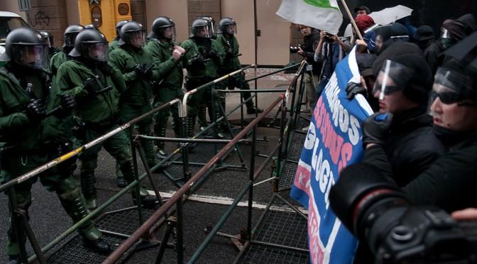 Eine kleine Demogeschichte – Protest und Polizei in den letzten vierzig Jahren