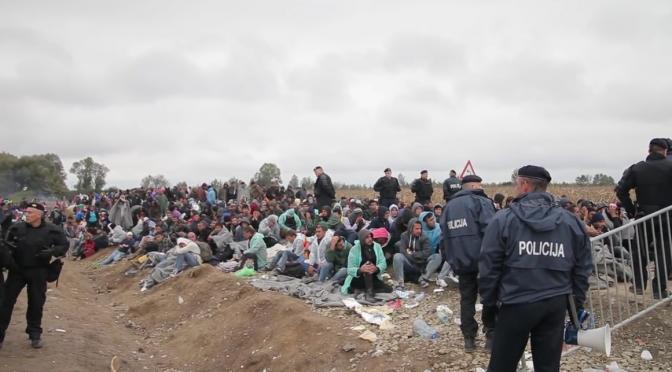 Refugees welcome - Und dann? Leftvision, November 2015.