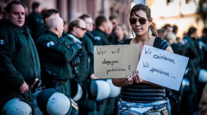 Das BVerfG zum Blockupy-Polizeikessel