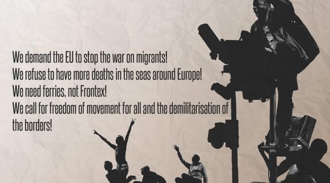 """""""Ein echter Krieg gegen die Migranten"""". Vorverlagerte Grenzen und die Rolle der Polizeien"""