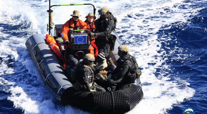 """EU hilft Libyen bei """"Polizei und Strafjustiz, Terrorismusbekämpfung, Grenzmanagement"""""""