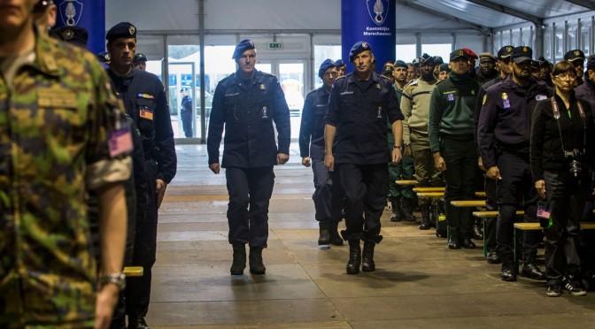 Polizei- und Gendarmerietruppen trainieren in NRW
