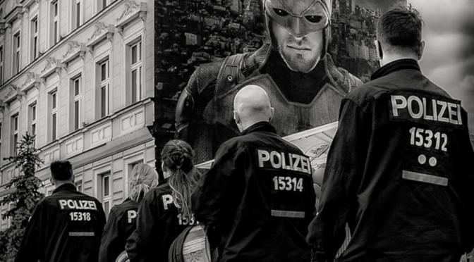 Berlin-Friedrichshain: massenhafte Kontrollen