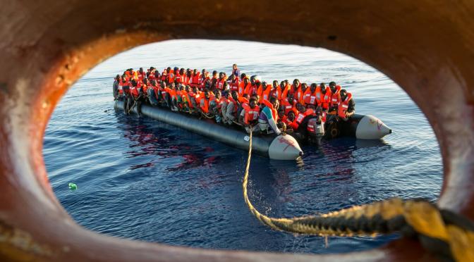 Küstenwache Libyens schießt scharf