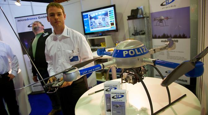 Bundespolizei liebäugelt mit großen Drohnen