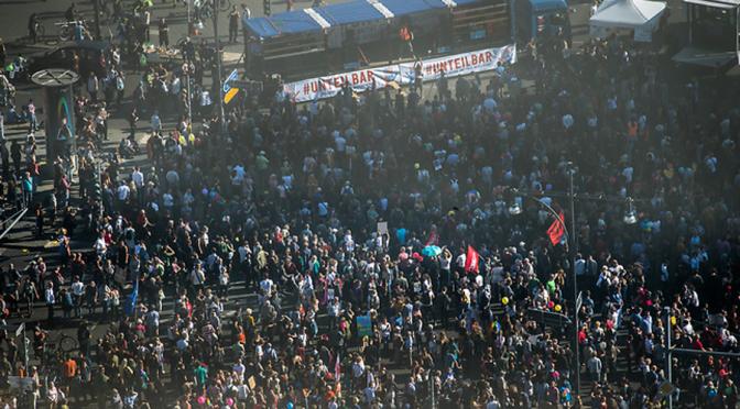 Bürgerrechte in Bewegung:Die Demokratie auf der Straße verteidigen