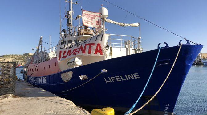 Umkämpfte Seenotrettung