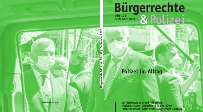 123 (September 2020) Polizei im Alltag