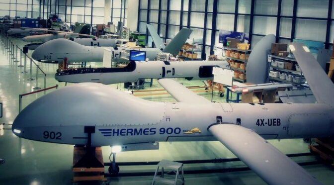 Große Drohnen im Mittelmeer